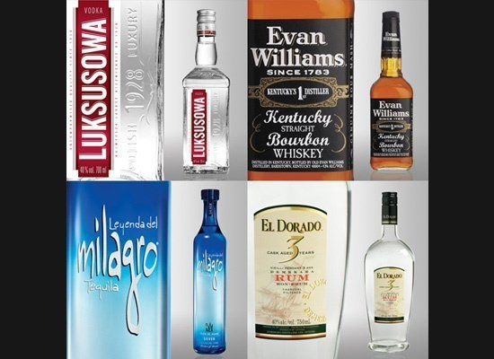 While all of these gadgets are important for making cocktails at home, you really can't do much without a good selection of b