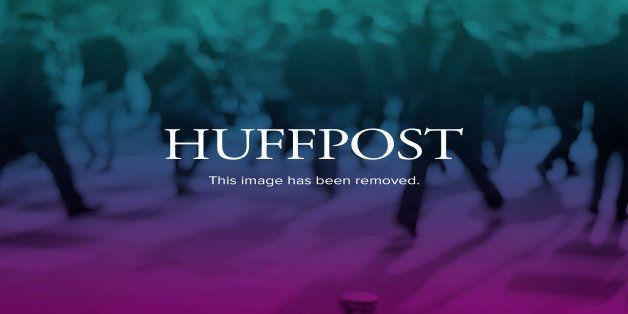 Gwyneth Paltrow, left, and Chris Martin are seen at the 3rd Annual Sean Penn & Friends HELP HAITI HOME Gala on Saturday,