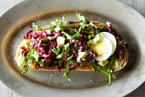 """<strong>Get the <a href=""""http://food52.com/recipes/26877-bagna-cauda-toasts-with-radicchio-egg-and-avocado"""" target=""""_blank"""">B"""