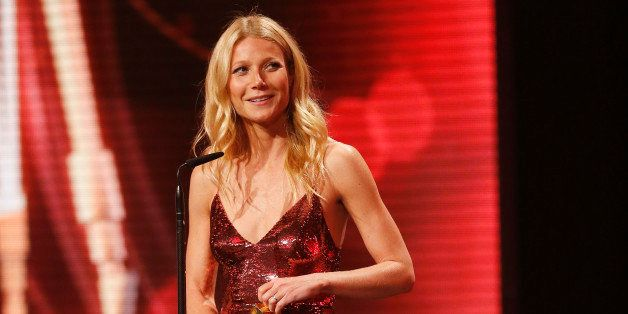 BERLIN, GERMANY - FEBRUARY 01: Gwyneth Paltrow attends the Goldene Kamera 2014 at Tempelhof Airport on February 01, 2014 in Berlin, Germany. (Photo by Franziska Krug/Getty Images )