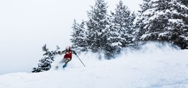 "Like snowboarding, vigorous downhill skiing can also torch 285 calories in half an hour. Take things <a href=""http://www.self"