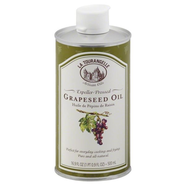 <strong>What it is:</strong> Grapeseed oil is versatile -- it has a fairly neutral flavor and medium-high smoke point. It can