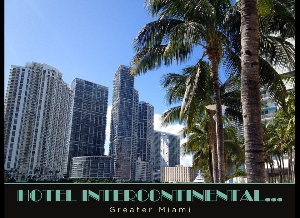The Hotel InterContinental Miami lets visitors take advantage of all its luxury services, including an outdoor pool, a full s