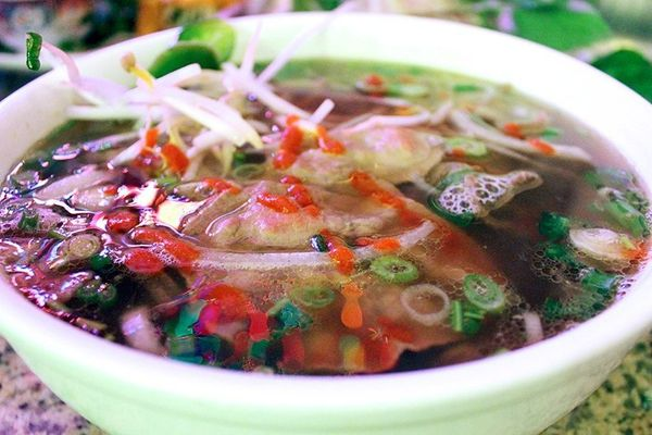 "It's also the street you go to for some of the best pho you could have ever dreamed of. <a href=""https://www.facebook.com/pag"