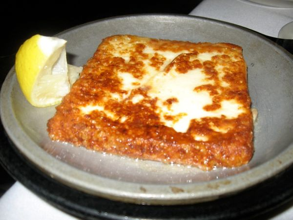 "After all, this is a dish that was reportedly originated in Chicago -- <a href=""http://www.theparthenon.com/"" target=""_blank"""