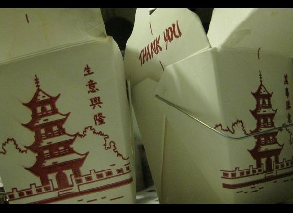 Those little white-carton wire-handled containers that are synonymous with Chinese takeout are actually a uniquely American i