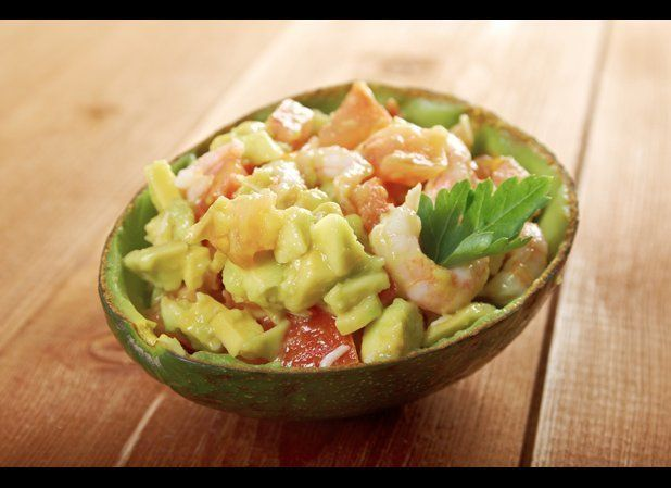 In Spain, avocados are featured in many tapas recipes, but they're also popular in salads. For a refreshing warm-weather meal