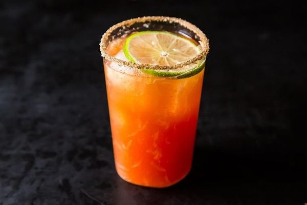 "<strong>Get the <a href=""http://food52.com/recipes/420-michelada-aka-bloody-beer"" target=""_blank"">Michelada (aka Bloody Beer)"