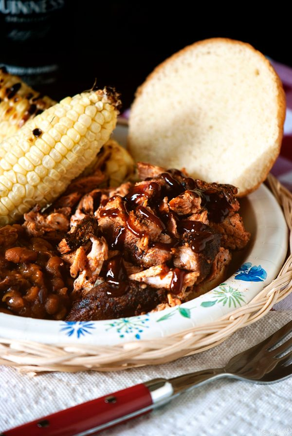 "<strong>Get the <a href=""http://passthesushi.com/smoked-pulled-pork/"" target=""_blank"">Smoked Pulled Pork</a> recipe from Pass"