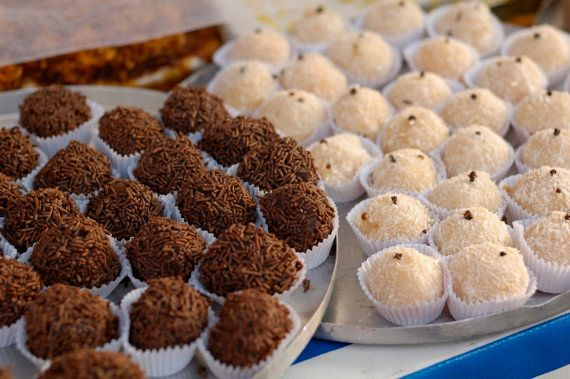 "If your world is devoid of the chocolate truffles known as <a href=""http://www.huffingtonpost.com/2013/12/12/brigadeiros-reci"