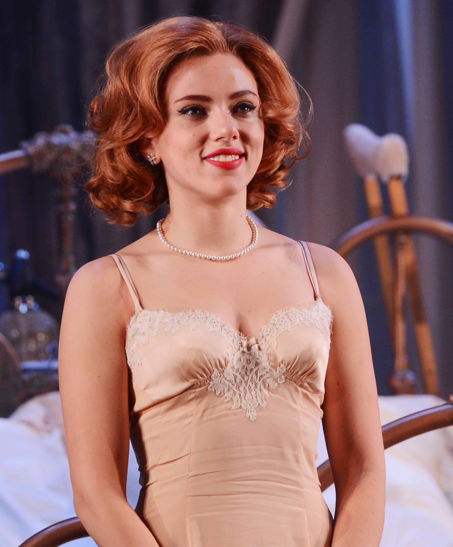 Has Scarlett Johansson ever been nude? - Nude