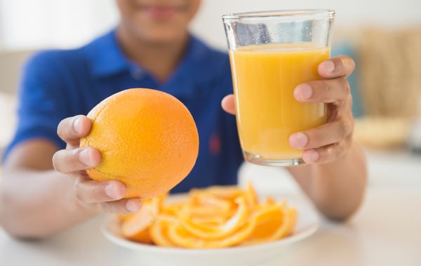<br><strong>SWAP OUT:</strong> Orange Juice<br><br><strong>SWAP IN:</strong> The Whole Orange <br><br> Skip the OJ in the mor