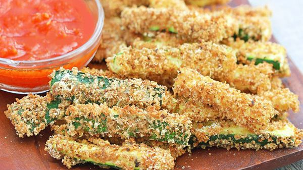 <br><strong>SWAP OUT:</strong> French Fries<br><br><strong>SWAP IN:</strong> Baked Zucchini Fries <br><br> There's no surpris