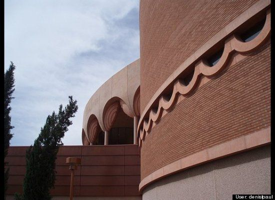 "Location: Tempe, Ariz.<br> Built: 1962-1964<br> <a href=""http://www.asugammage.com/"" target=""_blank"">More info</a><br><br>  T"