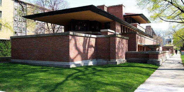 CHICAGO - MARCH 25:  The Frederick C. Robie House, built between 1908-1910 and designed by famed architect Frank Lloyd Wright, in Chicago, Illinois on MARCH 25, 2011.  (Photo By Raymond Boyd/Michael Ochs Archives/Getty Images)