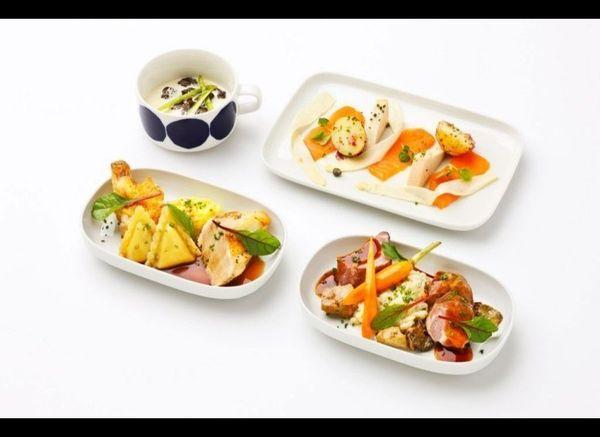 <strong>FINNAIR </strong> The style-conscious airline is introducing a new Scandinavian menu created by Pekka Terävä of Hel