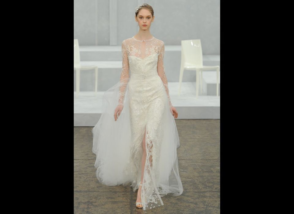 <em>MCV Photo</em><strong>More from The Knot</strong> <a></a>/blog.theknot.com/tag/bridal-fashion-week/?cm_mmc=TK-_-Huffingto