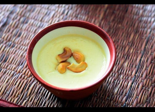 Also known as Phirni, this is a traditional North Indian rice pudding with saffron, cardamom, and nuts. The pudding is usuall