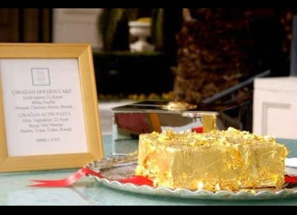 It's not only delicious but it's also the most expensive cake in the world. Served in the Ciragan Palace in Istanbul, this de