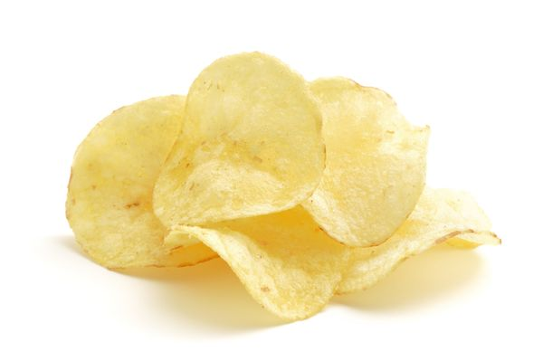 """Potato chips were born accidentally from an unsatisfied customer and an angry but complicit chef. <a href=""""http://voices.yaho"""