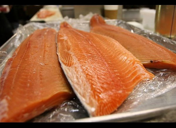 As overfishing of our oceans is a serious environmental concern, the U.S. errs in favor of farmed salmon for mass consumption