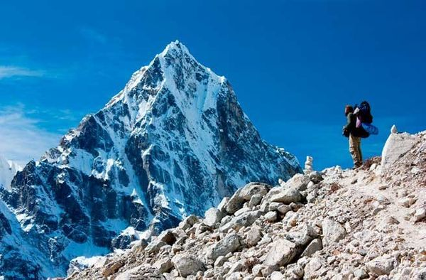 """<strong>Where</strong>: <a href=""""http://www.fodors.com/world/asia/nepal/"""" target=""""_blank"""">Nepal</a> The summit of Mt. Everest"""
