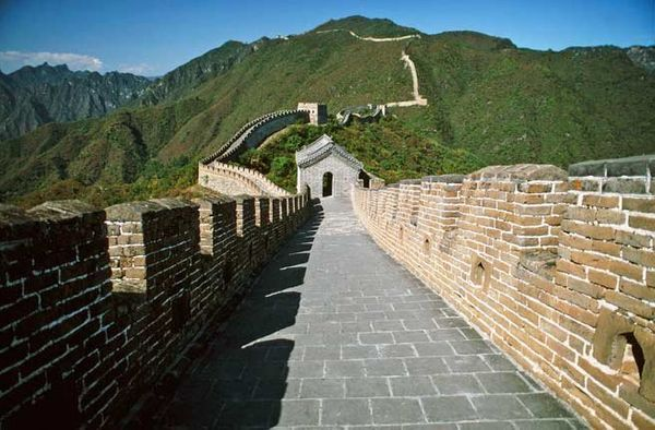 """One of the most iconic man-made structures on earth, the Great Wall of <a href=""""http://www.fodors.com/world/asia/china/"""" targ"""