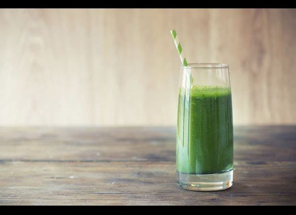 Spicy and fresh-tasting, this green smoothie tastes like all the best parts of a summer 