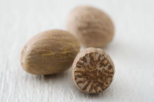 Fresh nutmeg is so much better than pre-ground nutmeg.