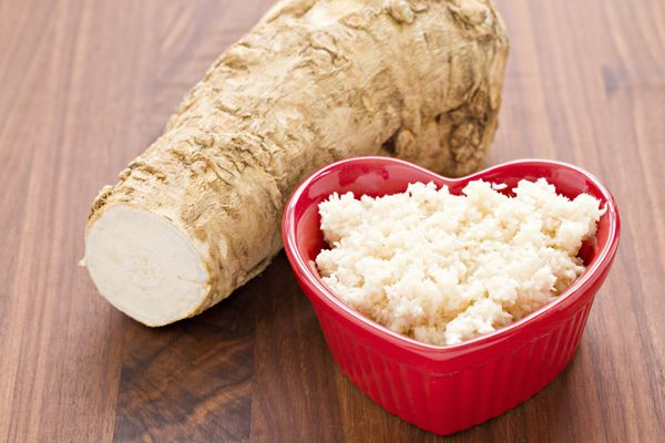 You don't know how good horseradish can be until you've had it freshly microplaned.