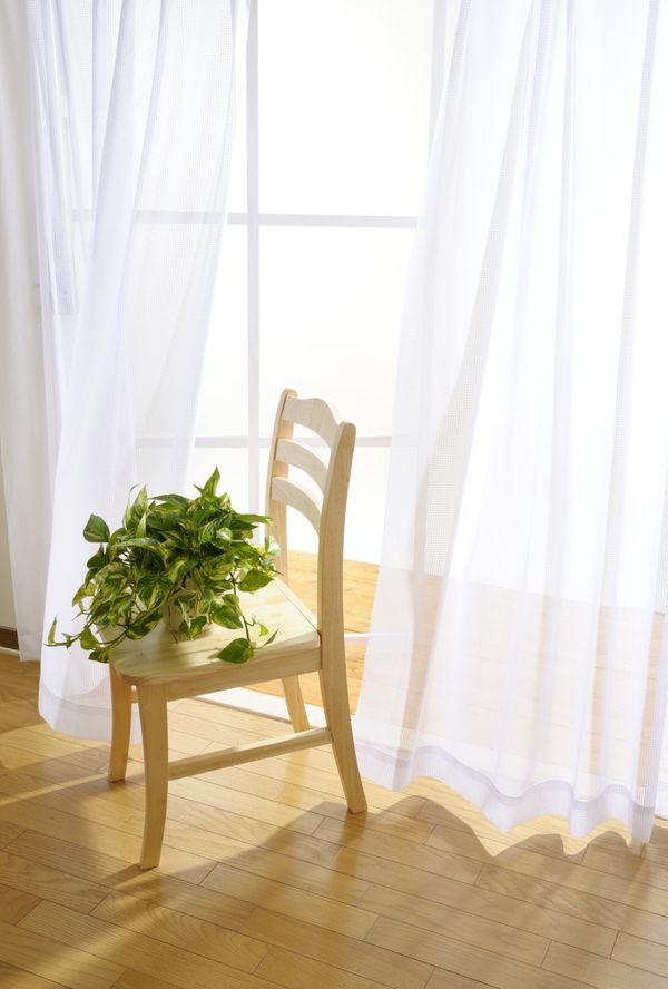 We all know that heavy drapes should be swapped out for sheers come late winter. But what we often forget is that sheer panel