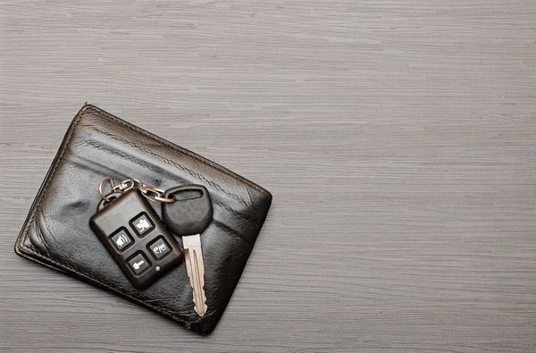 Don't misplace your keys again. Make a landing pad, or place to put your keys, mail and other items you don't want to forget,
