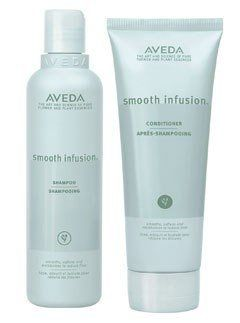 """$21 each, <a href=""""http://www.aveda.com/products/5250/Collections/Smooth-InfusionTM/index.tmpl"""" target=""""_blank"""">Aveda.com</a>"""