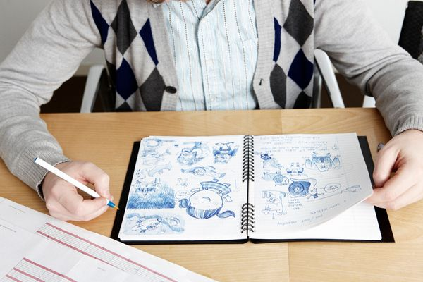 "That mindless doodling may not be so mindless after all. According to research <a href=""http://content.time.com/time/health/a"