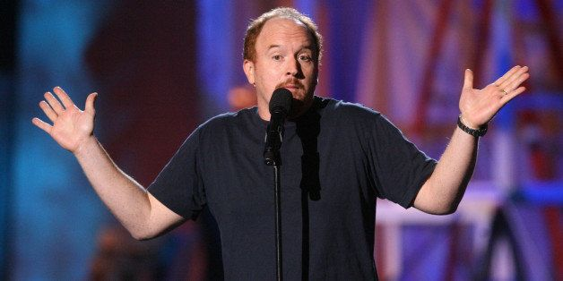 Louis C.K. during HBO & AEG Live's 'The Comedy Festival' - Comic Relief 2006 - Show at Caesars Palace in Las Vegas, Nevada, United States. (Photo by Jason Merritt/FilmMagic)