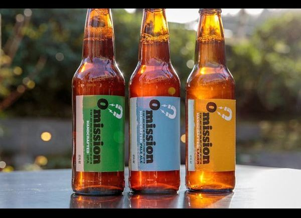 Omission has a tasty line of three craft beers (lager, IPA, and pale ale) brewed with traditional beer ingredients, and speci