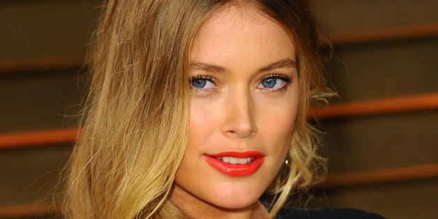 WEST HOLLYWOOD, CA - MARCH 02:  Doutzen Kroes attends the 2014 Vanity Fair Oscar Party hosted by Graydon Carter on March 2, 2014 in West Hollywood, California.  (Photo by Anthony Harvey/Getty Images)