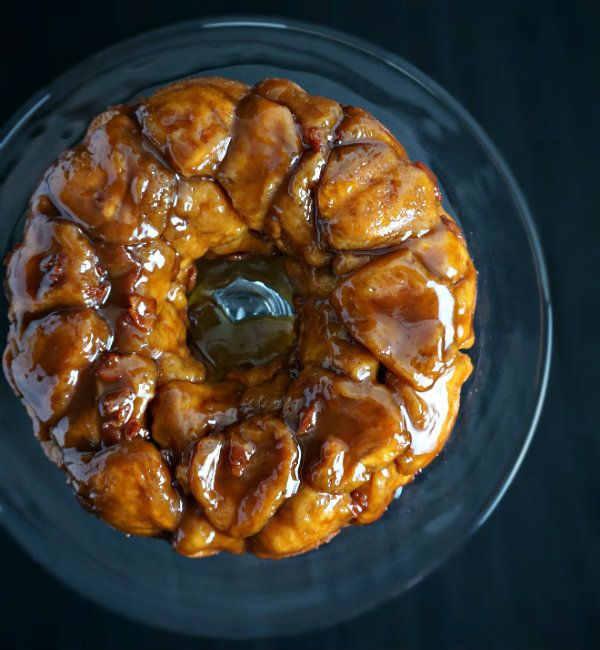 "<strong>Get the <a href=""http://cookingwithcakes.com/bourbon-bacon-brown-sugar-monkey-bread/"" target=""_blank"">Bourbon, Bacon,"