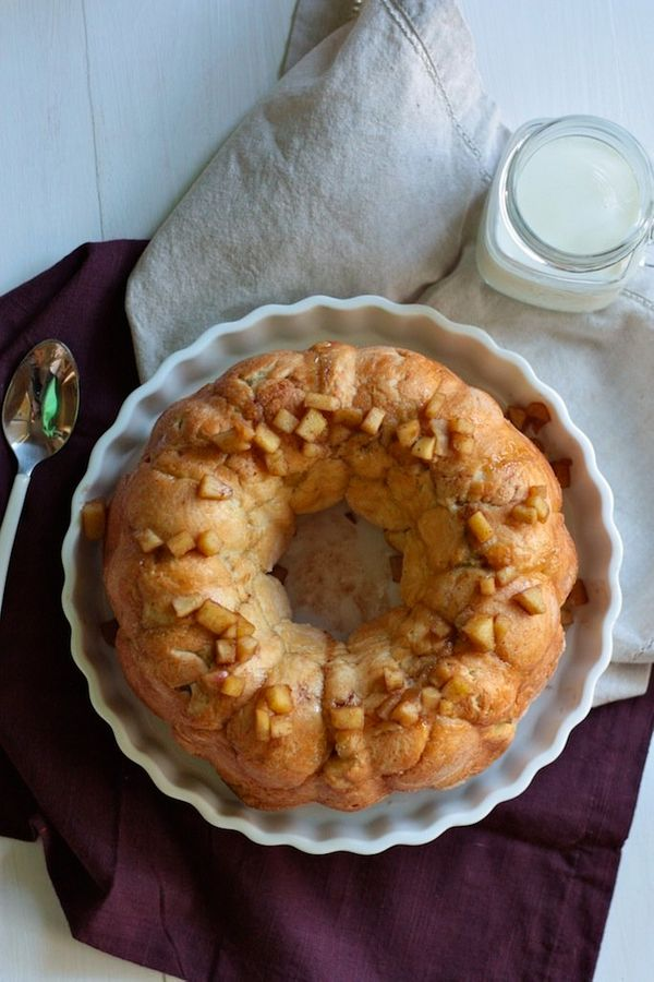 "<strong>Get the <a href=""http://www.countrycleaver.com/2013/11/apple-pie-stuffed-monkey-bread.html"" target=""_blank"">Apple Pie"