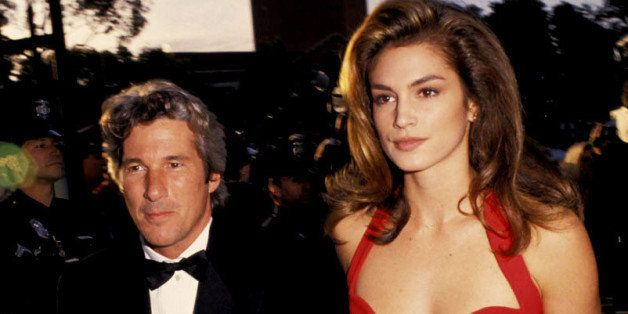 Richard Gere and Cindy Crawford during 63rd Annual Academy Awards at Shrine Auditorium in Los Angeles, California, United Sta