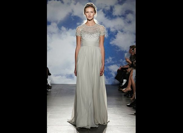 """Once again, the crystal headband showed its prowess at Bridal Fashion Week. This sparkling<a href=""""http://www.jennypack"""