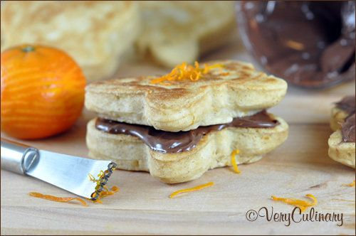 """<strong>Get the <a href=""""http://veryculinary.com/2013/03/22/nutella-pancake-sandwiches/"""" target=""""_blank"""">Springtime Nutella P"""
