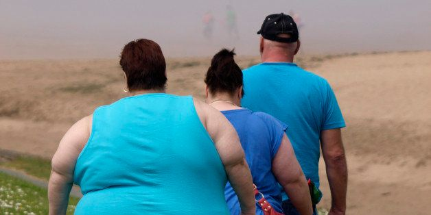 Overweight people (Photo by: myLoupe/Universal Images Group via Getty Images)