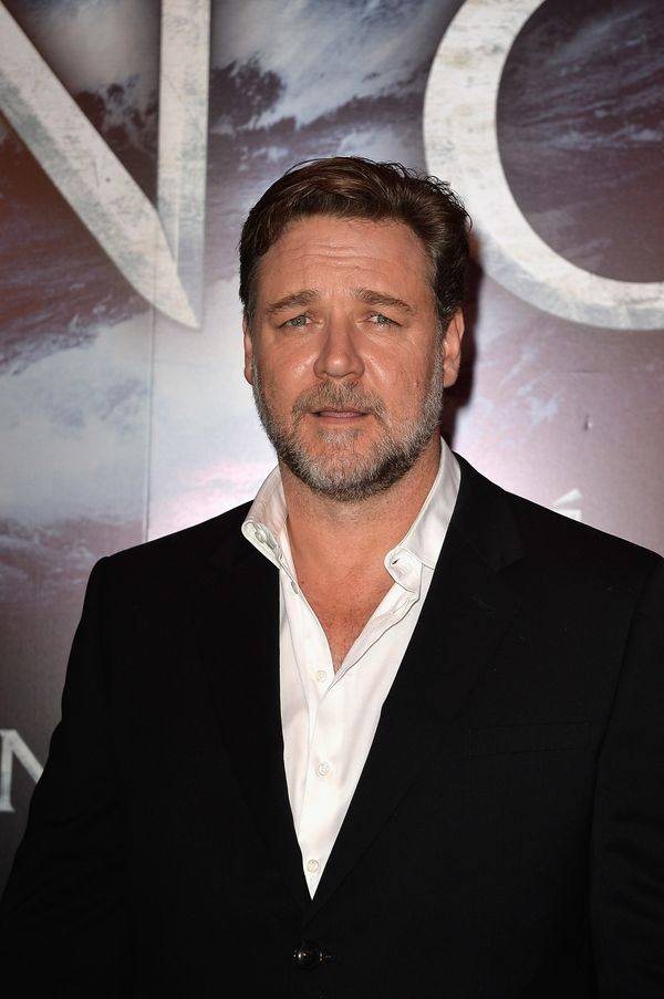 Pictured: Russell Crowe who plays Noah in 'NOAH'