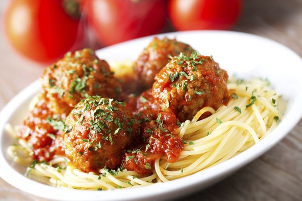 On a cool, fall evening, nothing hits the spot like a pile of spaghetti and meatballs.