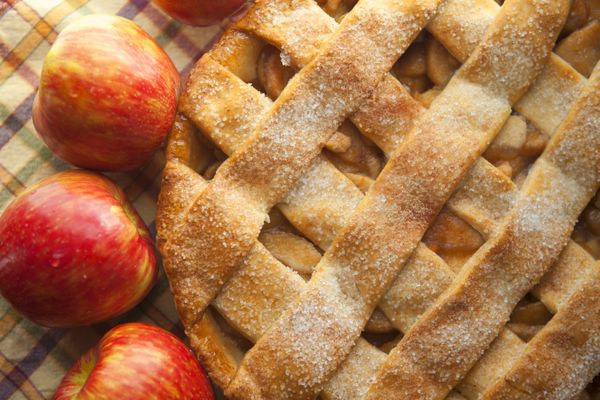 This pie symbolizes all that is great, beautiful and holy about life. Plus, it's really good with a scoop of ice cream.