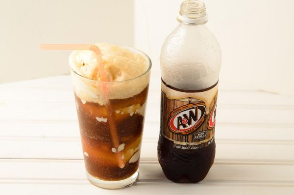 Of course there should be ice cream in your soda. Of course.