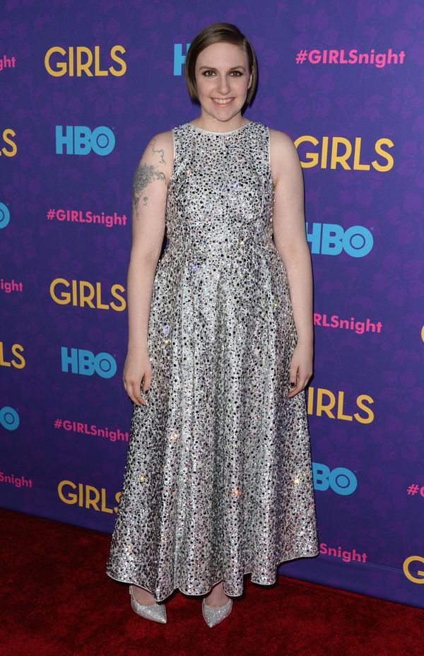 She is confident enough to wear a sparkly dress <em>and</em> sparkly shoes.