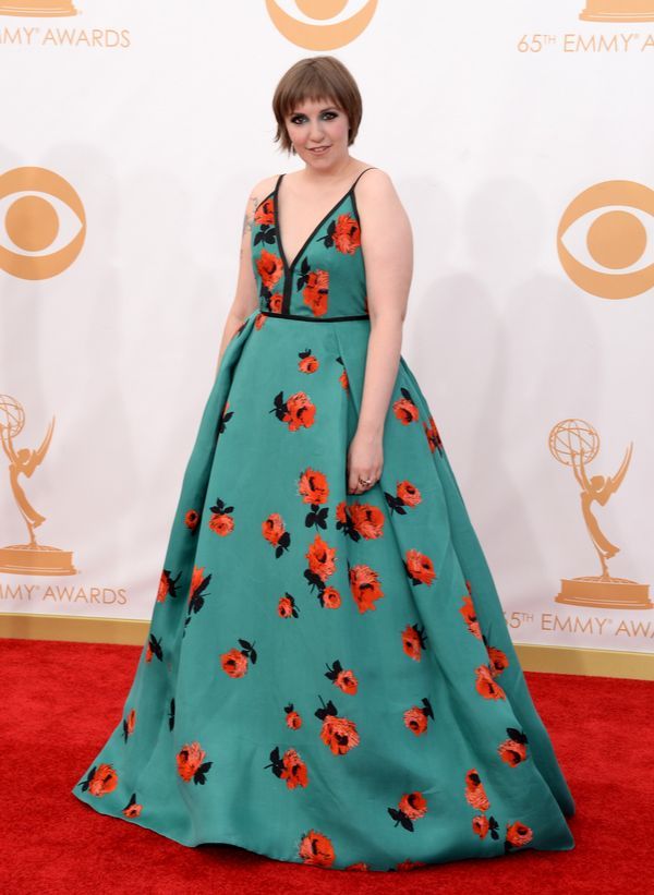 She wore a Met Gala-style dress to the Emmys.