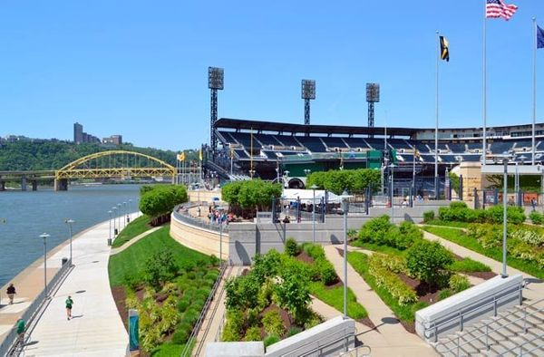 The hallmark feature of PNC Park is its intimacy, with the furthest seat in the house not even 90 feet from the field. An ext